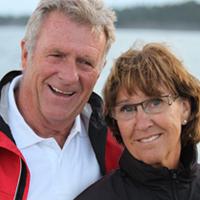 Reinhard und Birgitta in Mittigarden